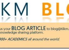 TIIKM Blog Articles