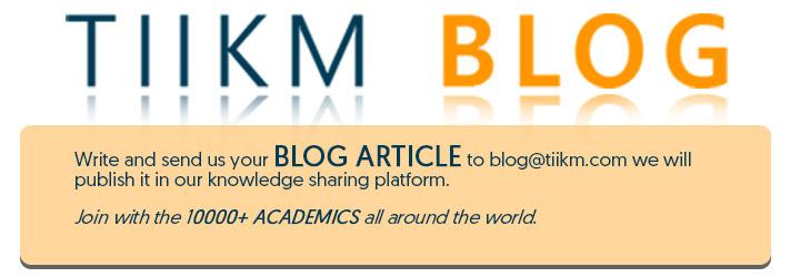 TIIKM Blog Articles