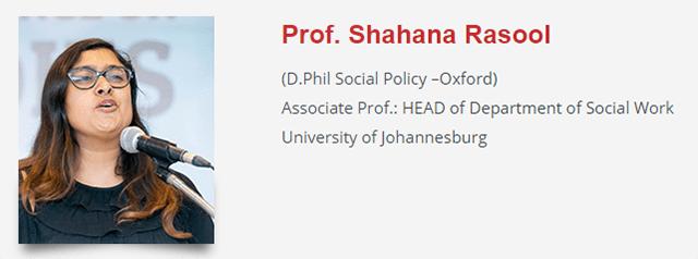 Shahana Rasool Gender and Sexuality Conference