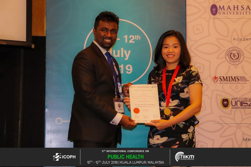 Winners of the 5th International Conference on Public Health