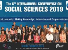 "The International Institute of Knowledge Management (TIIKM), Sri Lanka organized the 6th International Conference on Social Sciences 2019 (ICOSS 2019) on the 19th to 20th of September 2019 in Kuala Lumpur, Malaysia, under the theme ""Empowered Humanity: Making Knowledge, Innovation and Progress Accessible to All."" The Co – Hosting partners of the conference were the Department of Social and Development Sciences, Faculty of Human Ecology, University Putra Malaysia, Malaysia & the Macmillan Brown Centre for Pacific Studies, University of Canterbury, Christchurch, New Zealand in collaboration with University of Sargodha, Pakistan, The Islamia University of Bahawalpur, Pakistan and Noida International University, India as Academic partners. The conference was chaired by Professor Steven Ratuva, Director, Macmillan Brown Center for Pacific Studies, Professor, Department of Anthropology and Sociology, University of Canterbury, New Zealand. Each of the sessions and presentations were evaluated by an individual International evaluation committee and based on their marks and the conference chair's consent, Session's best presenter, Best Student presenter and Best Overall presenter were selected. The Best Student presenter and the Best Overall presenter won Free Registrations for ICOSS 2020 in addition to many other benefits."