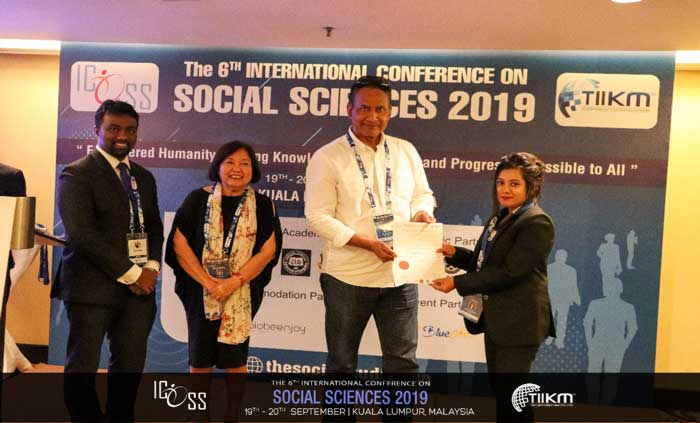 social Sciences 2019 winners