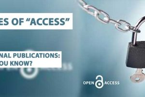 """types of """"access"""" in journal publications: did you know?"""