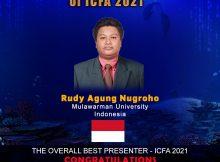ICFA 2021 overall best presenter